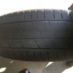 Bald-car-tire