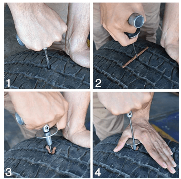 How-to-plug a tire-slow-leak-in-tire