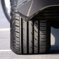 how-to-tell-if-you-need-new-tires-rear-view-of-tire