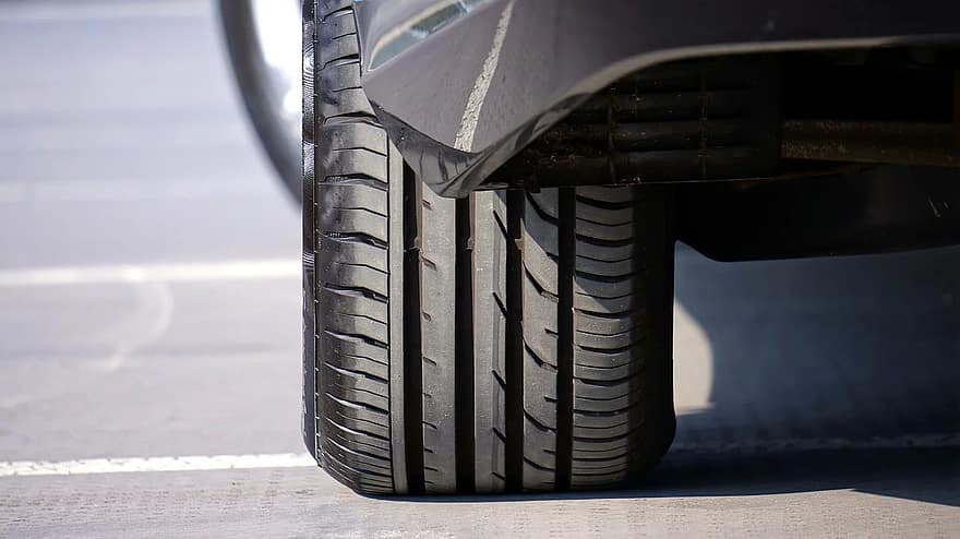 how to tell if you need new tires rear view of tire