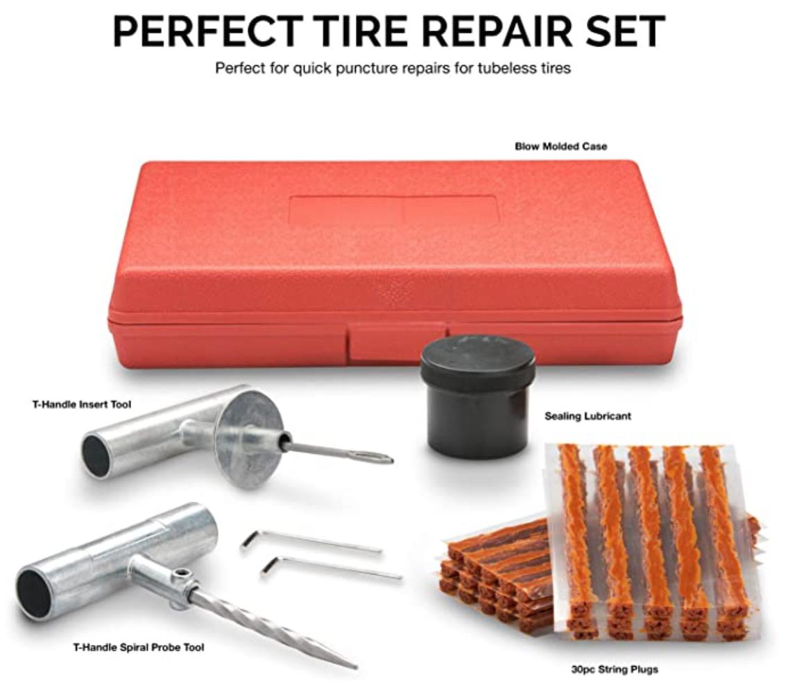 Professional Tire Plug Kit