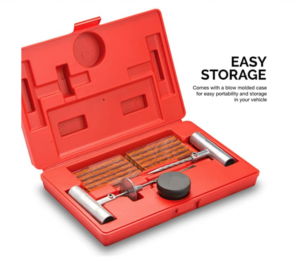 slow-leak-in-tire-nail Professional Tire Plug Kit