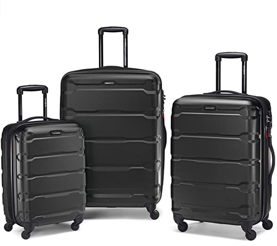 Samsonite hard case suitcase set